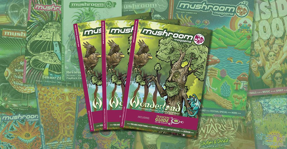 mushroom July – Nov 2018