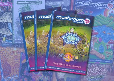mushroom April – June 2017