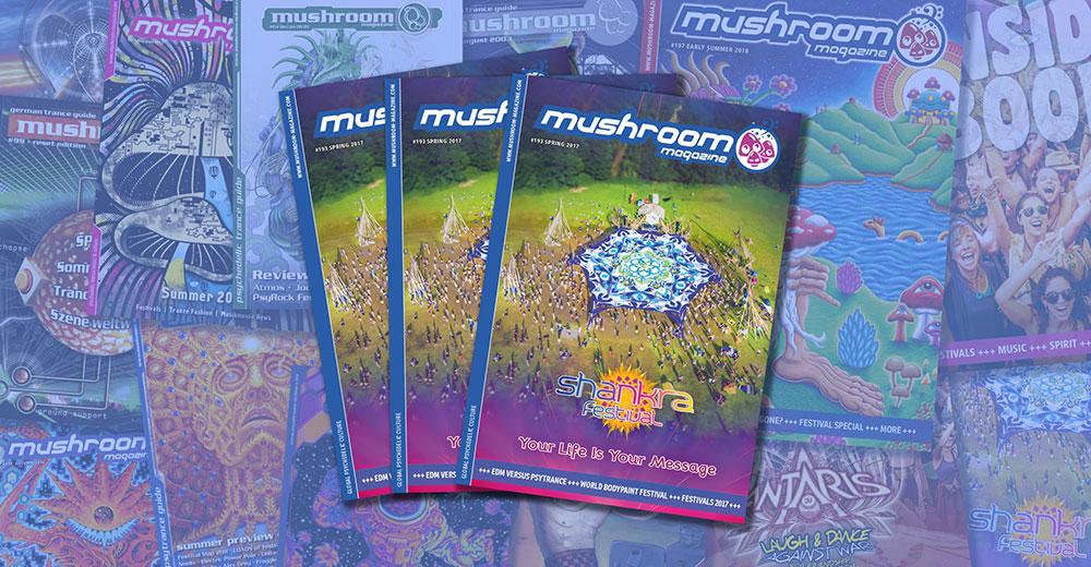 mushroom April – June 2017